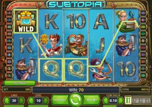 Игровой автомат Subtopia бонусы и комбинации