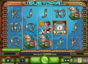 Игровой автомат Subtopia scatter
