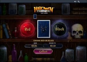 halloween fortune игра на удвоение