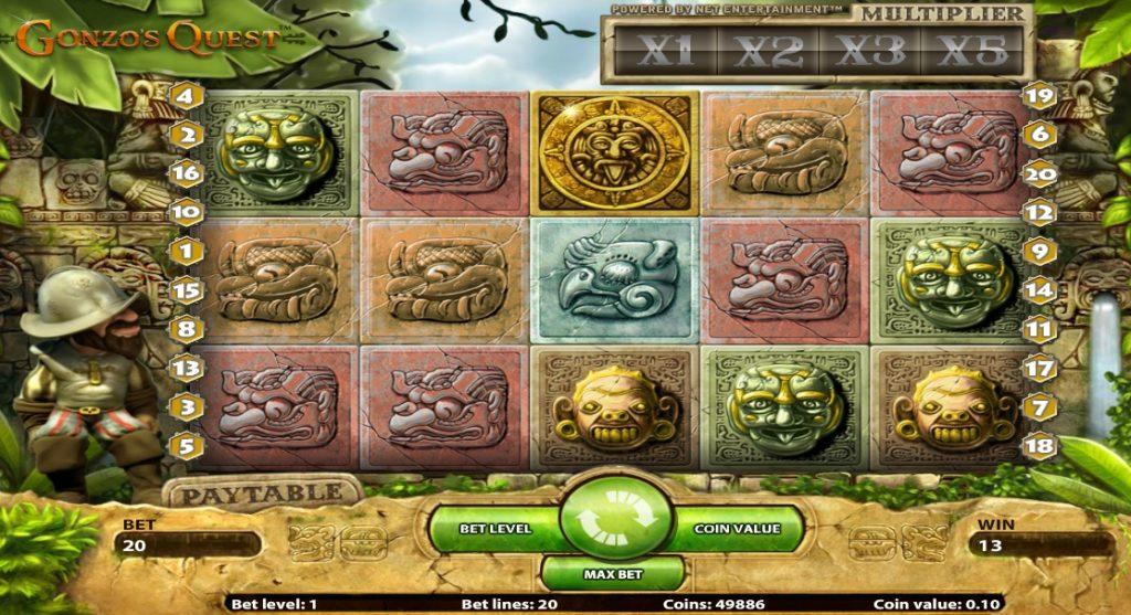 Игровой автомат 3D Gonzo Quest