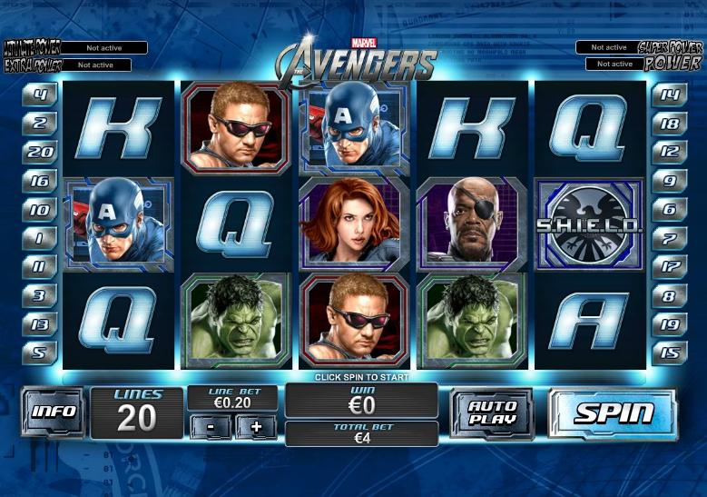Игровой автомат Avengers