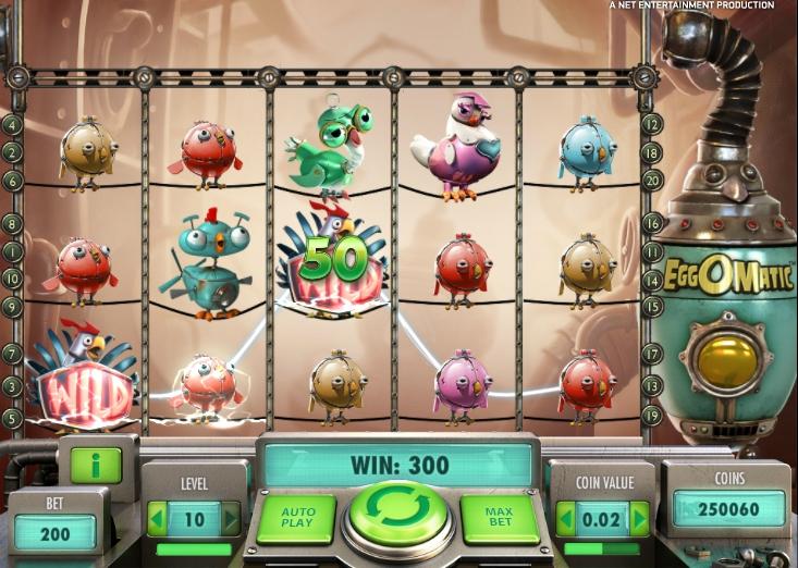 Игровой автомат Egg O Matic