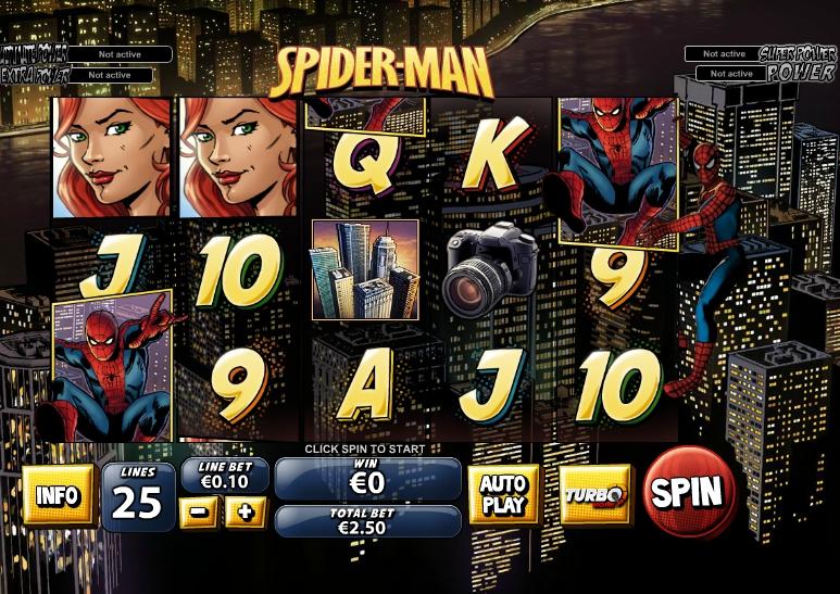 Игровой автомат Spider Man