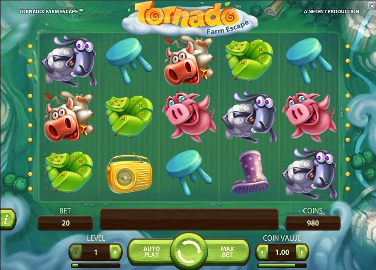 Игровой автомат Tornado